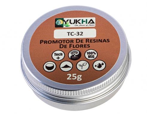 Flower resin promoter