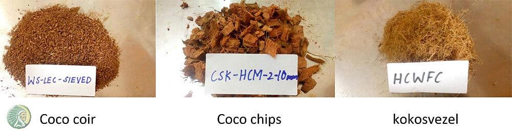 Kokos- en kokosvezels