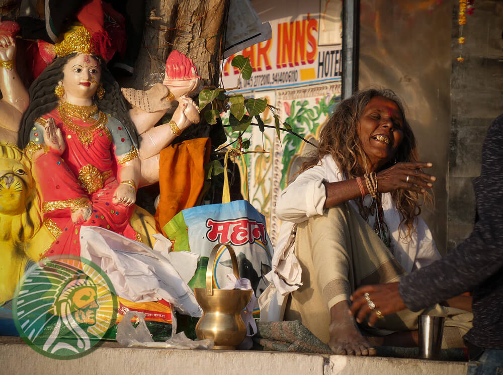 Freude und geistiges Wohlwollen in Indien