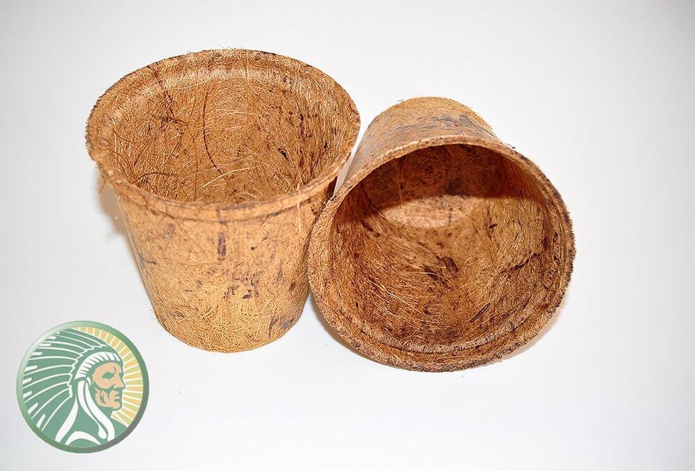 Voorgevormde potten van kokosvezel - Yukha